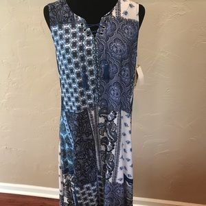 🆕Womens OneWorld Tank Maxi Dress